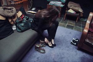 锐度新绳模试镜记实-纪实 德国超模伦敦时装周的一天图片