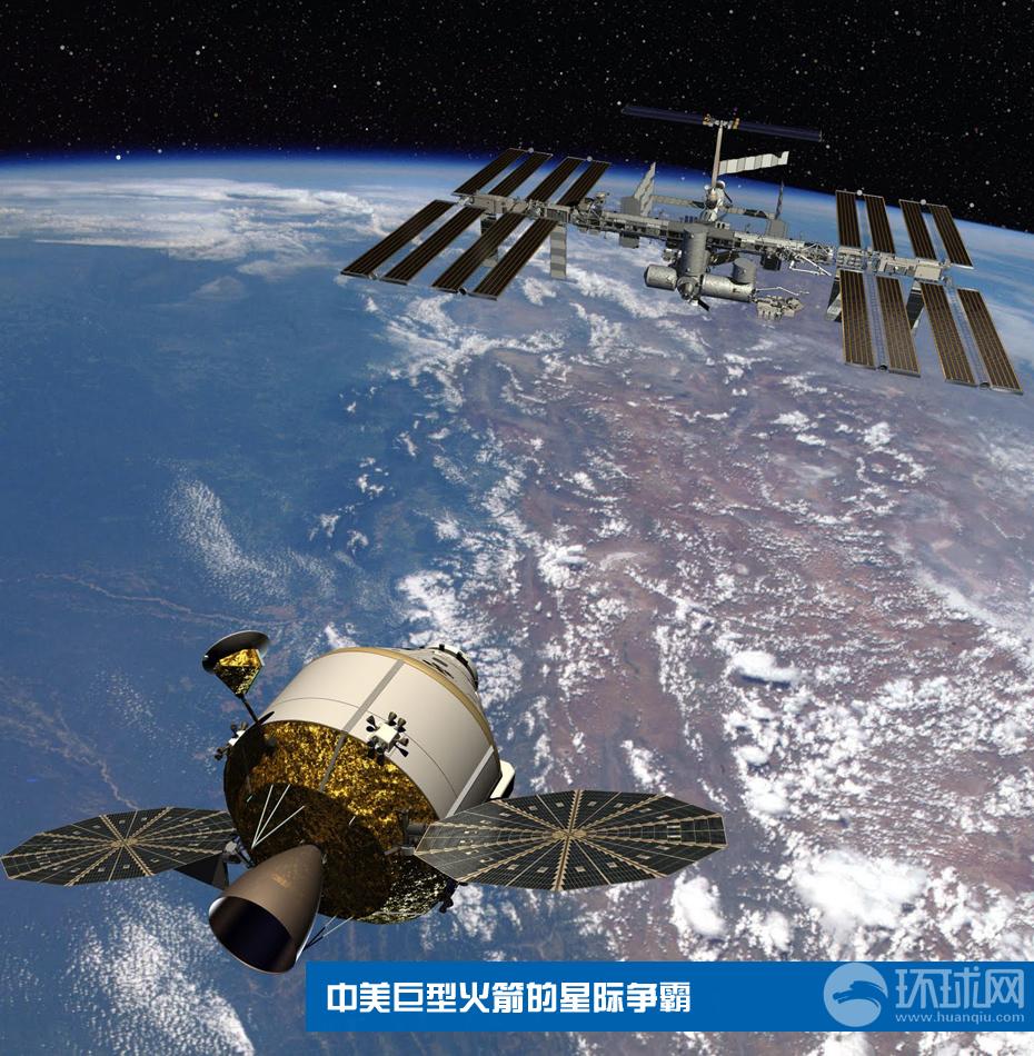 中国 火箭/美国的猎户座飞船,曾作为战神I火箭的配套工程,后取消。美国的...