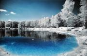 风光摄影:霜冻乌克兰