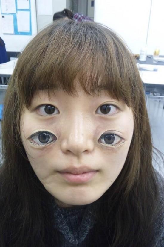 日本阴道人体艺术_日本女孩的人体彩绘艺术【组图】
