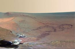 NASA公布火星表面高清全景图