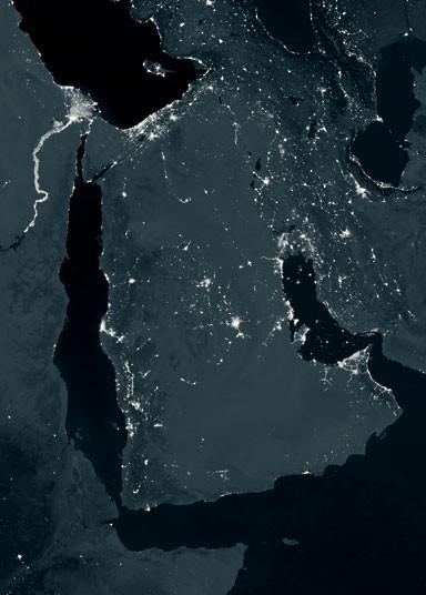 地球 夜景/从地球夜景卫星图看全球能量分布(9/13)...
