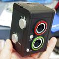 小巧可爱的数码双反相机