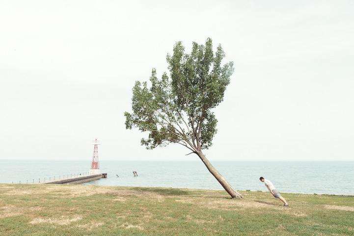 风光摄影:倾斜45度