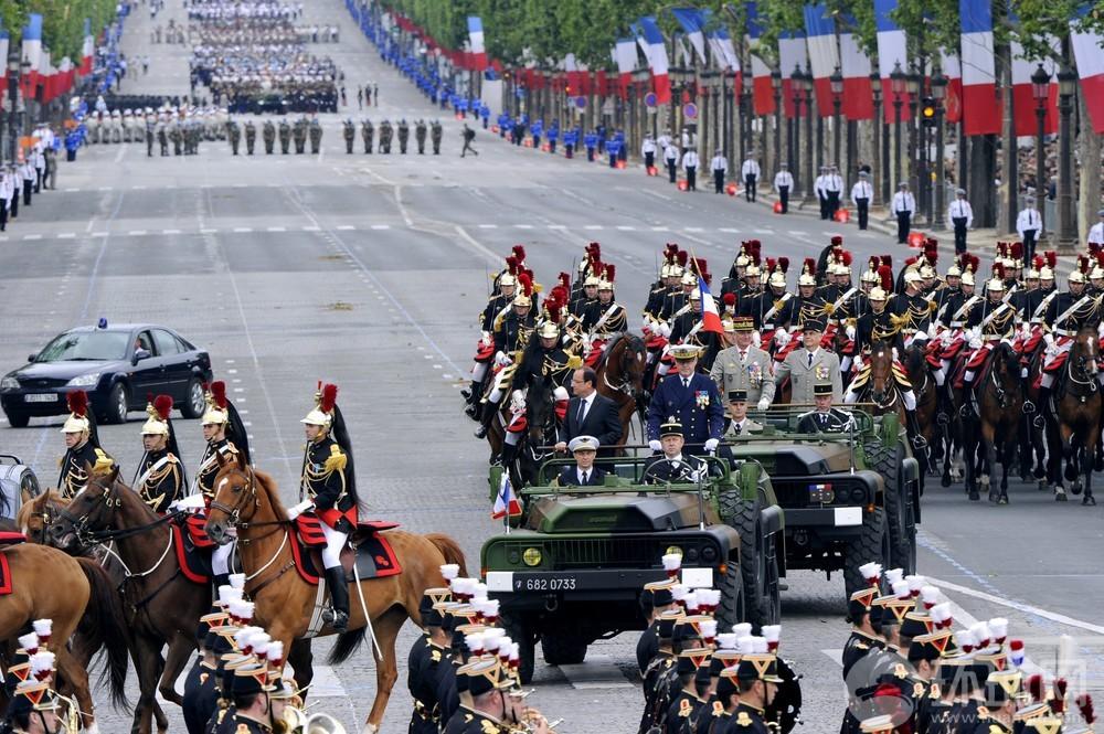 民主国家也阅兵:法国庆日盛大阅兵式(43/59)