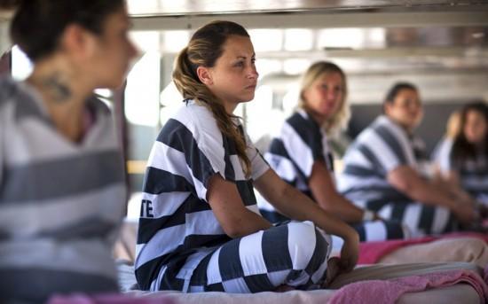 美国女囚犯的日常生活