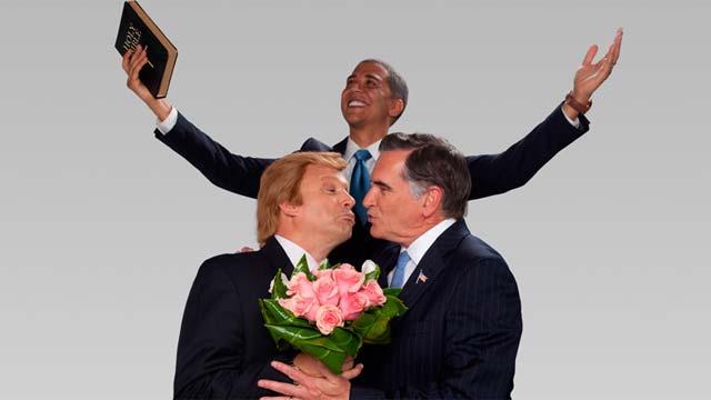 美国政治大碗遭恶搞---奥巴马为罗姆尼征婚 - 野有雅兰 - 野有雅兰的博客