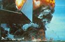 美军航母起火爆炸瞬间