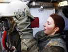 以色列的骁勇女坦克兵