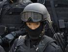 首尔反恐用女特种兵