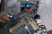 驻阿富汗特种部队打扮像外星人