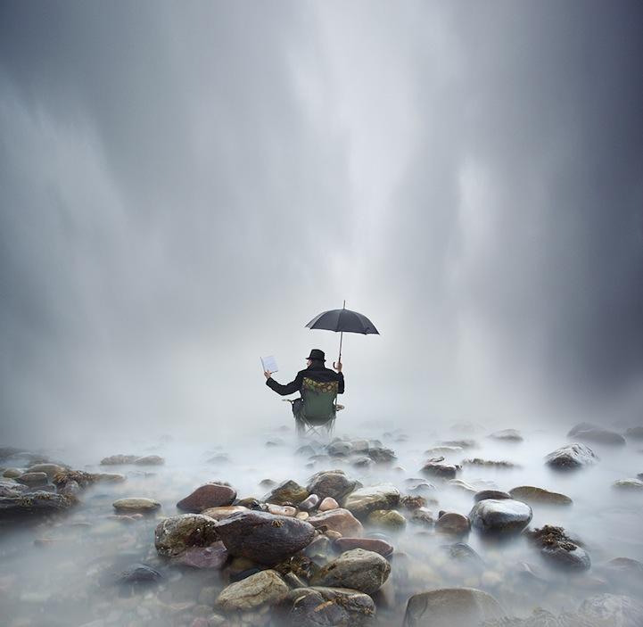 人像摄影:梦旅人的背影