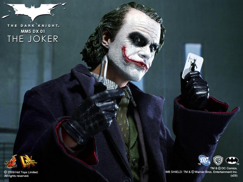 小丑(The Joker)饰演者:希斯·莱杰 《蝙蝠侠前传2:黑暗骑士》