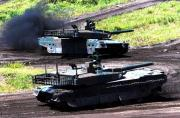 日最强坦克亮相年度夺岛军演