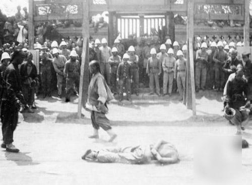 八国联军在中国的兽行