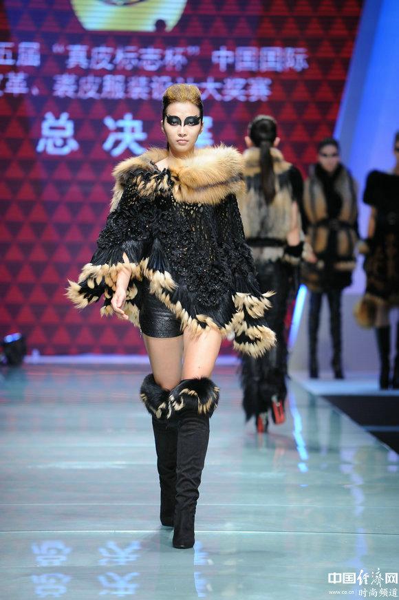 节点、裘皮服装v节点新潮绘制时尚全运流_诠释皮革视频图片