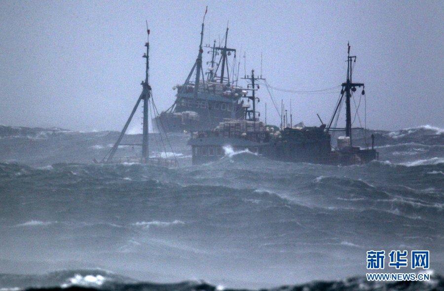 近海渔船图片_中国渔船韩国近海沉没_国际新闻_环球网