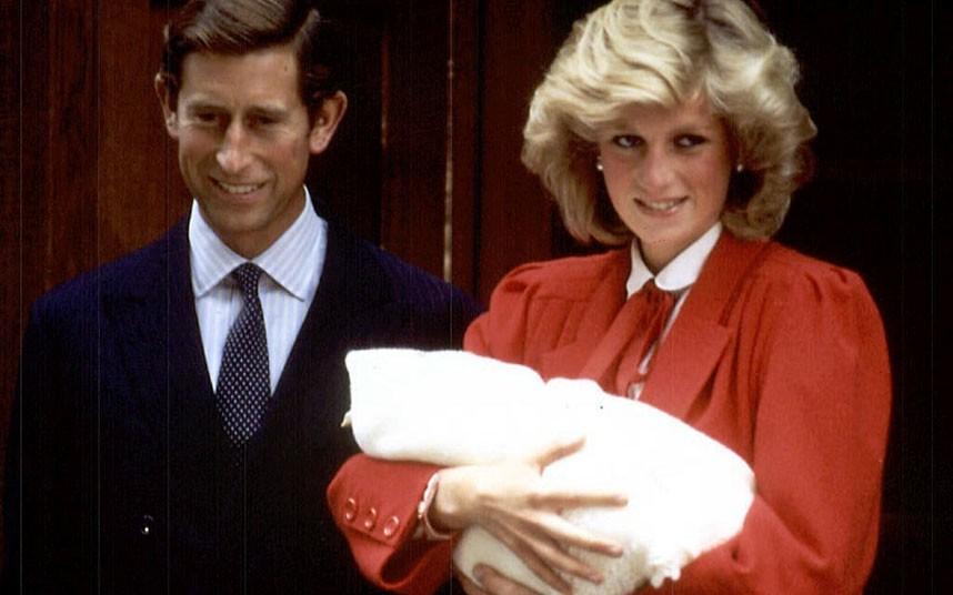 戴安娜王妃生前生活照
