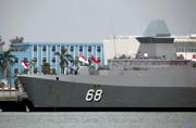 亚洲最强护卫舰造访南海舰队