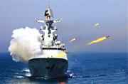 中国海军演习实弹射击猛图曝光