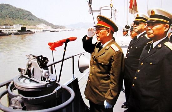 刘华清上将:中国不建航母 我死不瞑目