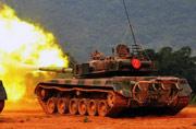南京军区96式坦克发威了