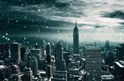 风光摄影:纽约雪景