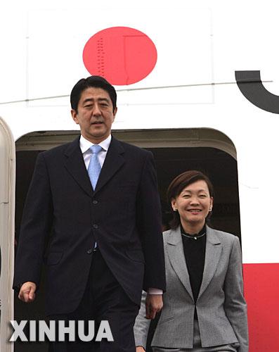 黄敬文/日本首相安倍晋三访华时,夫人安倍昭惠陪同出访。