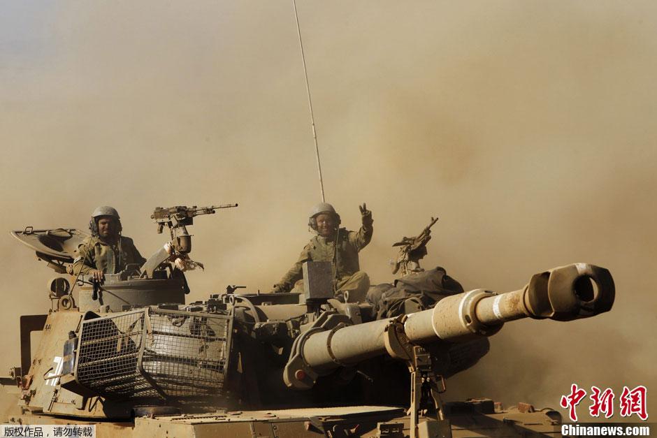 以色列和中国军演_以色列举行近年来最大规模突击战斗演练_国际新闻_环球网