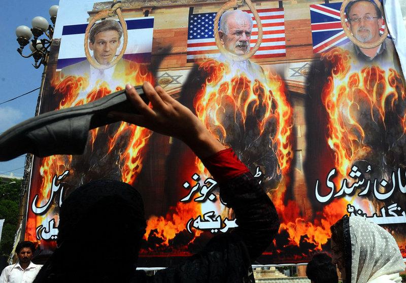巴基斯坦爆发大规模反美抗议 致16死200伤