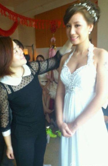 宋晓波与聋哑女友完婚 女方中华小姐曾获奖