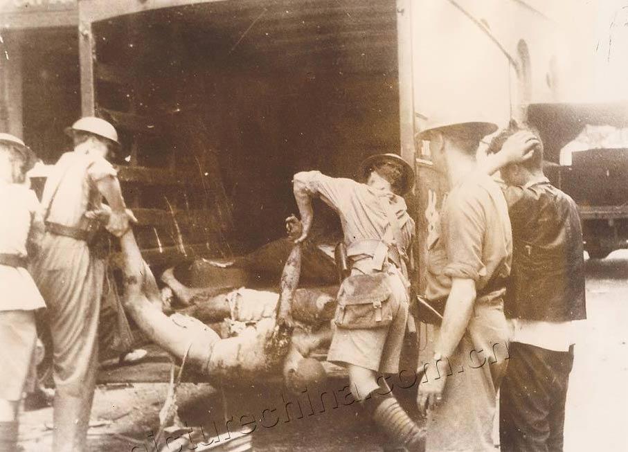 淞沪会战 惨烈 1937年/1937年淞沪会战惨烈照(10/13)