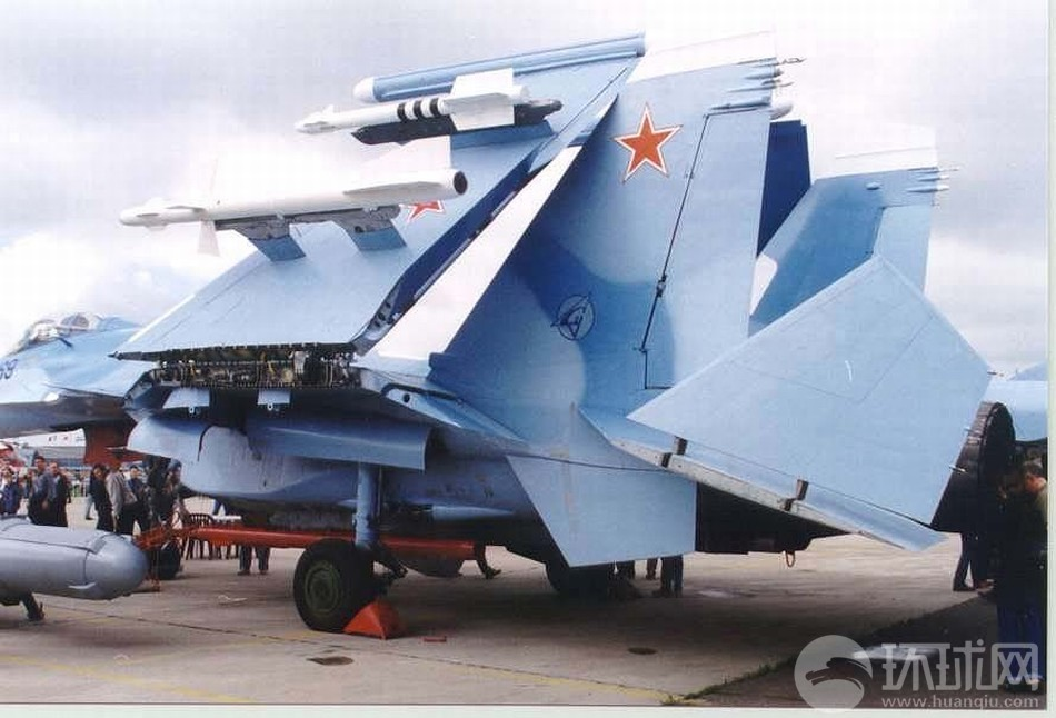 细看俄式航母舰载机折叠机翼