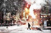 城市风光:暴雪归途