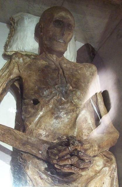 埃及花脸木乃伊:在英国博物馆展览的这具木乃伊奇怪的花脸显得特别图片