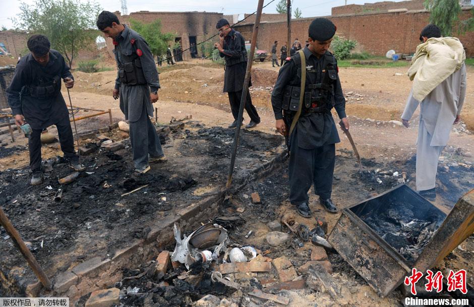 白沙瓦/塔利班袭击白沙瓦检查站6名巴基斯坦警察丧生(2/4)