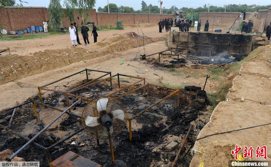 白沙瓦/塔利班袭击白沙瓦检查站6名巴基斯坦警察丧生(4/4)