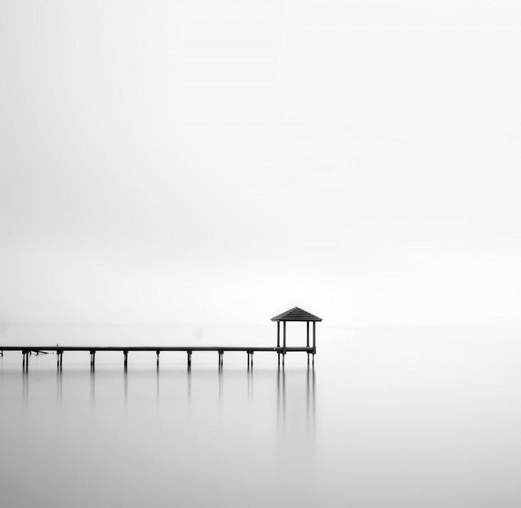 风光摄影:极简黑白