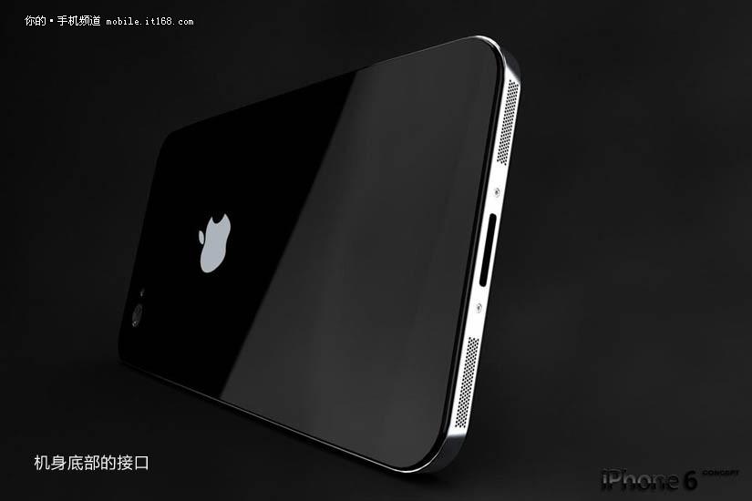 回归不锈钢合金边框 苹果iphone 6概念图曝光(图)