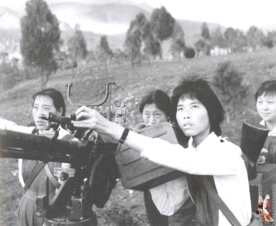 70年代丽江纳西族女民兵