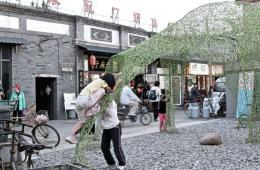 修复老建筑展示中国风格