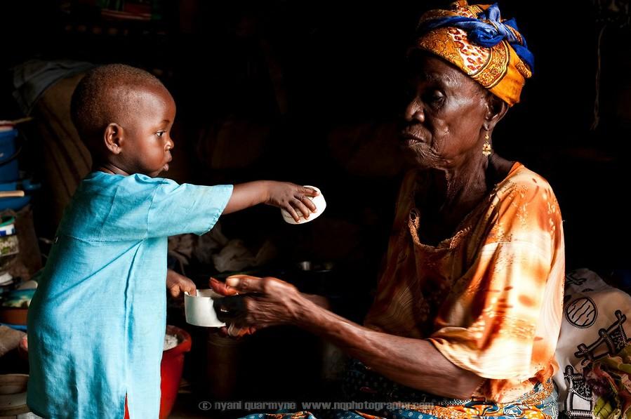 """加纳/加纳遭世人抛弃的""""女巫集中营""""(13/16)..."""