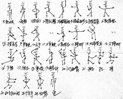 湖北女大学生手绘漫画太极24式笑翻漫画网友浮恋36图片