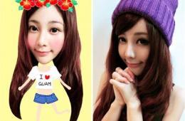 台湾区关岛购物大使:网络美少女当选