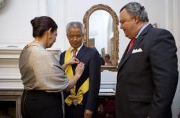 墨西哥向中国前大使授勋