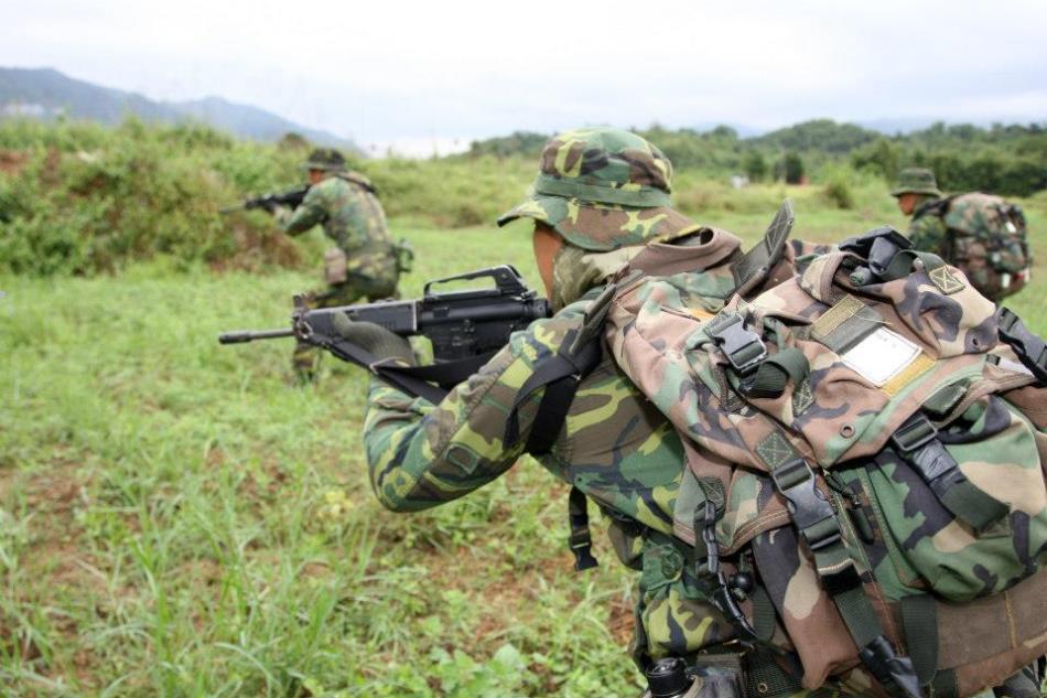 山地演习中台湾特种部队曝光