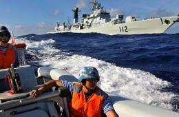 北海舰队编队远海训练