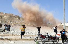 叙政府军空袭北部地区