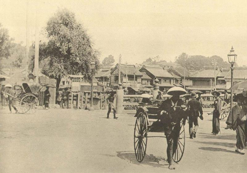 苏格兰人拍1893年日本