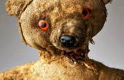 观念摄影:哭泣的泰迪熊